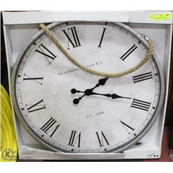 """EXTRA LARGE 28""""D, WORKING SHOWHOME WALL CLOCK"""
