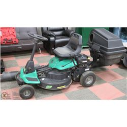 """26"""" RIDE ON WEED EATER LAWNMOWER WITH MULCHING"""