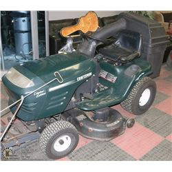 """42"""" CRAFTSMAN RIDING LAWNMOWER WITH"""