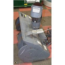 SNOW BLOWER ATTACHMENT FOR RIDING LAWNMOWER OR