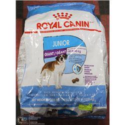 ROYAL CANIN GIANT JUNIOR  DOG FOOD 30LBS