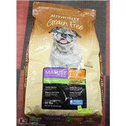 AUTHORITY GRAIN FREE 30LBS DOG FOOD