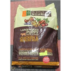 SIMPLY NOURISH LARGE BREED PUPPY FOOD 30LBS