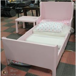 SHOWHOME PINK SINGLE BEDFRAME