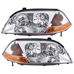 NEW PAIR OF HEADLIGHT ASSEMBLYS FOR 01-03 ACURA