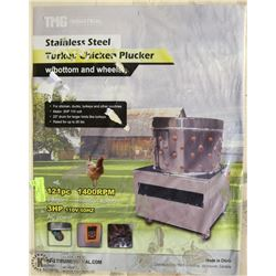 NEW CHICKEN PLUCKER WITH BOTTOM AND SHEET