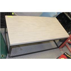 METAL BASED COFFEE TABLE 42 X 22 X17