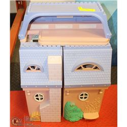 FISHER PRICE DOLL PLAYHOUSE