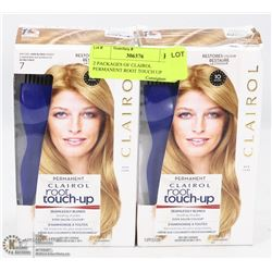 2 PACKAGES OF CLAIROL  PERMANENT ROOT TOUCH UP