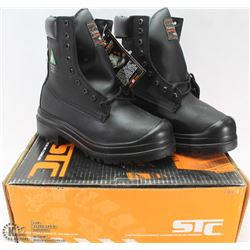STC STEEL TOES WORKBOOTS SZ 6.5