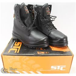 STC STEEL TOES WORKBOOTS SZ 5.5