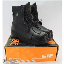 STC STEEL TOES WORKBOOTS SZ 14