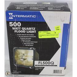 INTERMATIC 500WATT FLOOD LIGHT NEW.