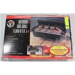 PORTABLE OUTDOOR GAS GRILL NEW IN BOX