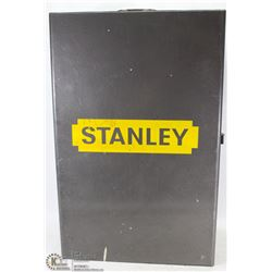 "STANLEY METAL TOOL CHEST 15"" X 23"" X 8"" WITH"