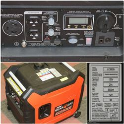 FEATURED ECHO BEAR CAT 3500 WATT GENERATOR