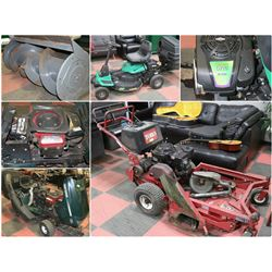 FEATURED RIDE ON LAWNMOWERS +1 ATTACHMENT