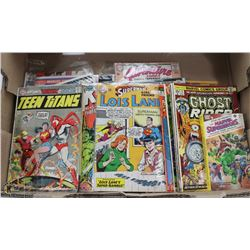 BOX OF VINTAGE 1960'S AND 70'S COMICS