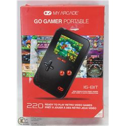 GO GAMER PORTABLE GAME PLAYER 220 GAMES BUILT