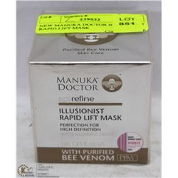 NEW MANUKA DOCTOR ILLUSIONIST RAPID LIFT MASK