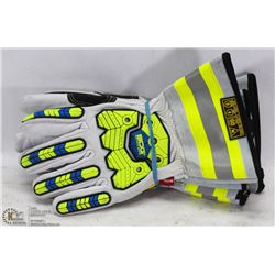 SET OF 2 BOB DALE CUT/IMPACT GLOVES SIZE LARGE