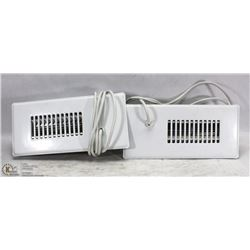 2 NEW CYCLONE ELECTRIC BOOSTER FANS FOR REGISTERS