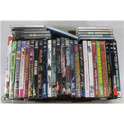 24 DVDS & 10 CDS INCL ELVIS COUNTRY GREAT LEONORD