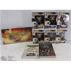 LOT OF SUPERNATURAL COLLECTIBLES INCL NEW IN