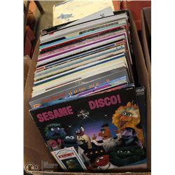 BOX OF LPS INCL PATTI LABELLE, BOOTS RANDOLPH,
