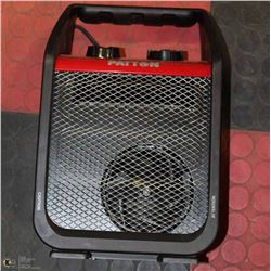 NEW 1500W PATTON HEATER WITH RUGGED HOUSING,