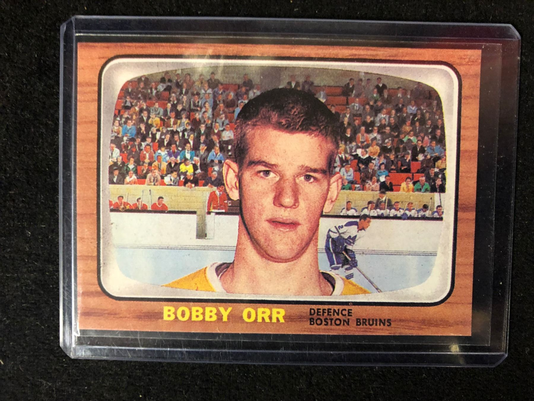 1966 67 Topps Bobby Orr Rookie Card