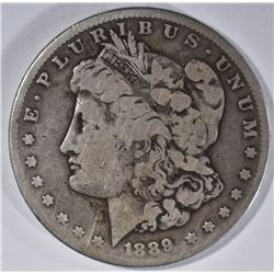 1889-CC MORGAN DOLLAR, FINE KEY DATE