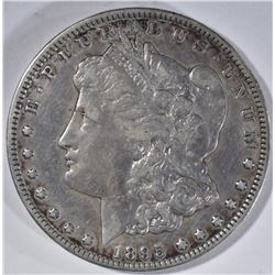 1895-S MORGAN DOLLAR, XF KEY DATE