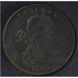 1798 LARGE CENT, F/VF