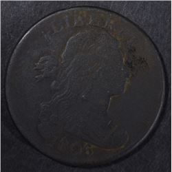1806 LARGE CENT, FINE+ porosity