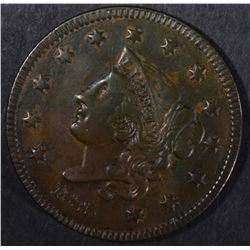 1835 LARGE CENT,M XF