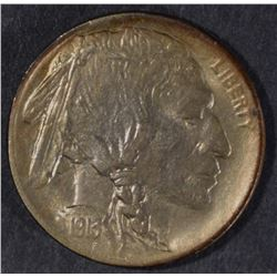1913 TYPE-1 BUFFALO NICKEL, GEM BU
