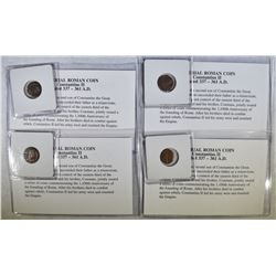 4 - IMPERIAL ROMAN COINS