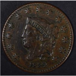 1832 LARGE CENT VF