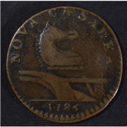 NEW JERSEY 1786 COLONIAL XF