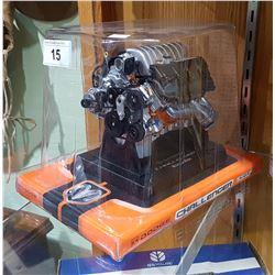 DODGE CHALLENGER SRT ENGINE MODEL IN UNOPENED BOX