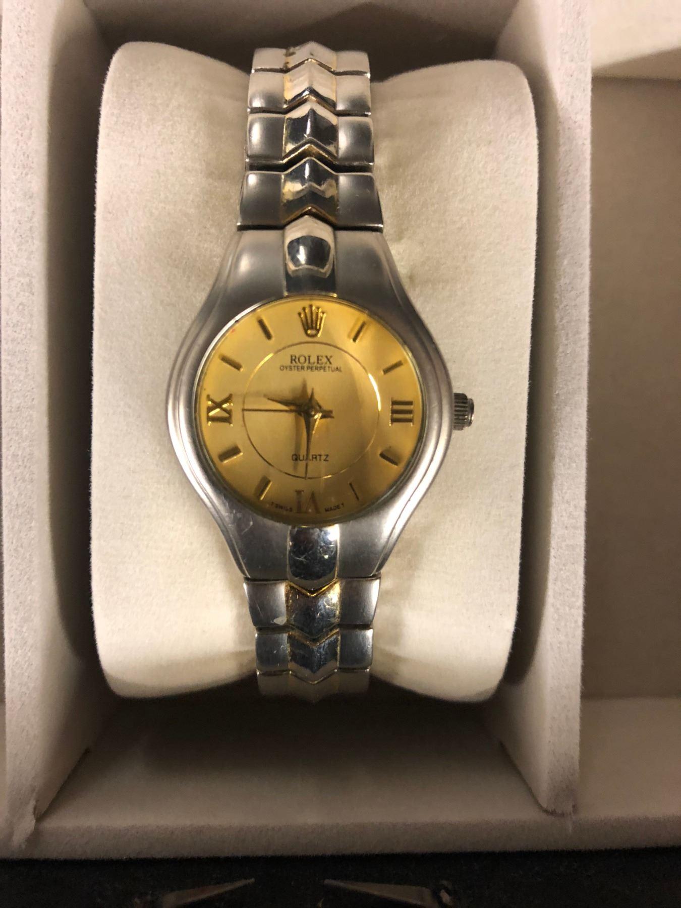 Rolex Oyster Perpetual Quartz Wrist Watch Replica