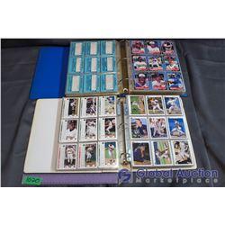 (2) Binders of Baseball Cards