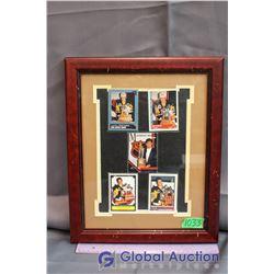 Framed Mario Lemieux Trophy Winner Cards