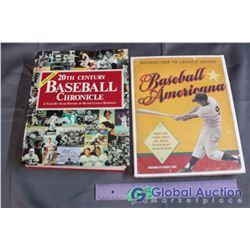 2 Baseball History Illustrated Books