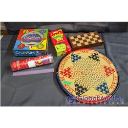 Lot of Board Games (Chess, Cranium, Apples to Apples Kids, Chinese Checkers, Suspended)