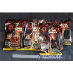 Lot of (8) Star Wars Episode I Toys