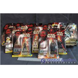 Lot of (10) Star Wars Episode I Toys