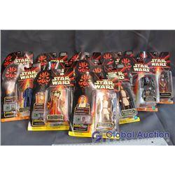 Lot of (12) Star Wars Episode I Toys