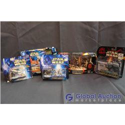 Lot of (5) Star Wars Episode I Toys